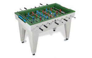 Betonnen voetbaltafel