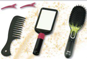Borstelset Braun Satin Hair 7 + toebehoren