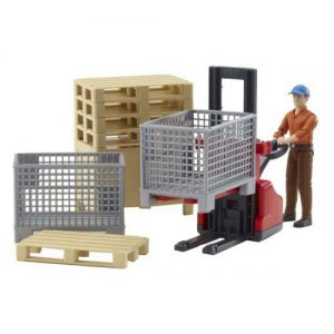 Bruder 62200 Palletwagen set