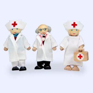 Dokter + 2 verpleegsters