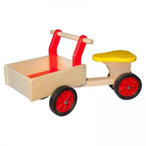 Bakfiets Rood - Allehand