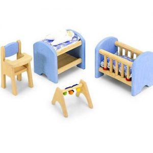 Meubelset Babykamer I - Inrichting poppenhuis
