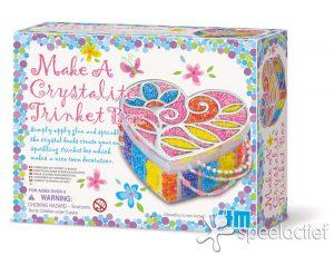 "4M Crea Hobby- en Knutseldoos - Sieradendoosje maken ""Make a crystalite Trinket box"""