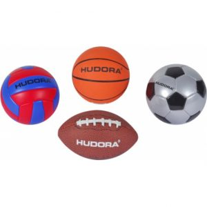 Mini sportballen: Basketbal - Voetbal - Rugbybal - Volleybal