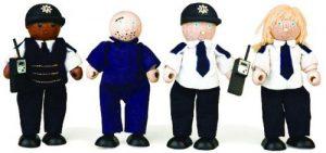 Politie-agenten + boef - Pintoy