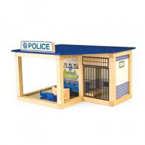 Houten Politiebureau Pintoy