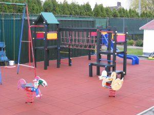 Safe & Soft Rubber speelplaatstegels 100 x 100 cm.-0