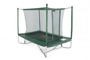 Avyna PRO-LINE 275 x 190 cm. Combi - Groen - Trampoline + veiligheidsnet + ladder