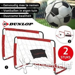 voetbaldoel_dunlop, voetbalgoal_duo set_ SpeelActiief.