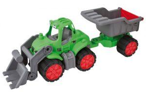 BIG Power Worker Tractor met Kipaanhanger