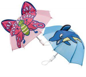 Paraplu voor de pop