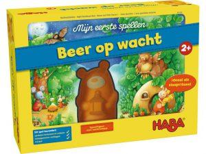 Beer op wacht