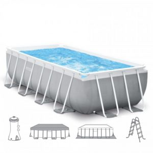 Intex Prism Frame Pool 488 x 244 x 107 cm.