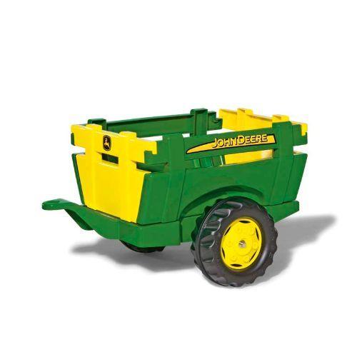 Rolly X-Trac John Deere met Farm Trailer - Traptractor