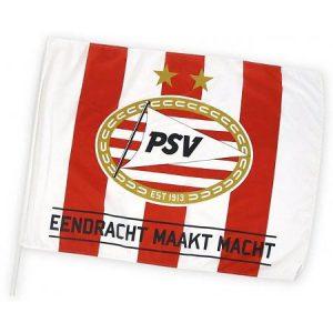 Zwaaivlag PSV Eendracht maakt macht 75 x 100 cm.