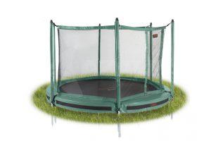 PRO-LINE 12 Groen Inground + Veiligheidsnet - 365 cm