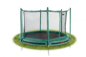 PRO-LINE 8 Groen Inground + Veiligheidsnet - 245 cm.