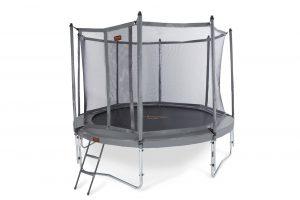 PRO-LINE 12 Groen + Veiligheidsnet + Ladder - 365 cm