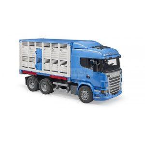 Bruder 3549 MAN Veetransportwagen incl. 1 koe