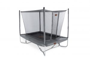 Avyna PRO-LINE 275 x 190 cm. Combi - Grijs - Trampoline + veiligheidsnet + ladder