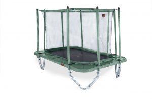 Avyna PRO-LINE 340 x 240 cm.Combi - Groen - Trampoline + veiligheidsnet