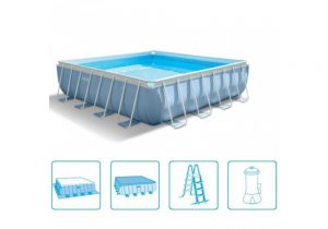 Intex Prism Frame Pool 427 x 427 x 107 cm.