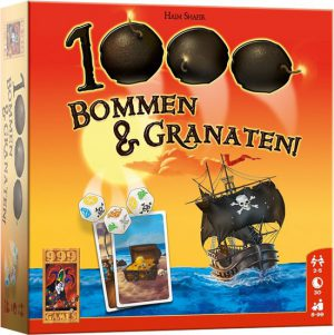 1000 Bommen en Granaten- Dobbelspel