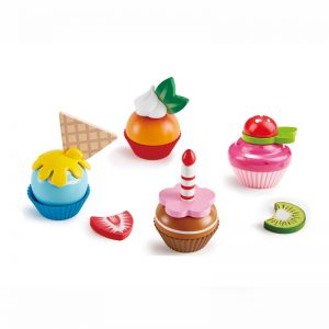 Cupcakes Hape (4 stuks