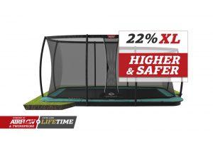 BERG Ultim Champion Flatground 410 Green + Safety Net DLX XL