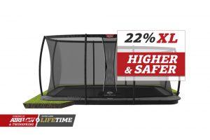 BERG Ultim Champion Flatground 410 Grey + Safety Net DLX XL